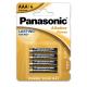 4 Piles AAA LR03 Alkaline Power