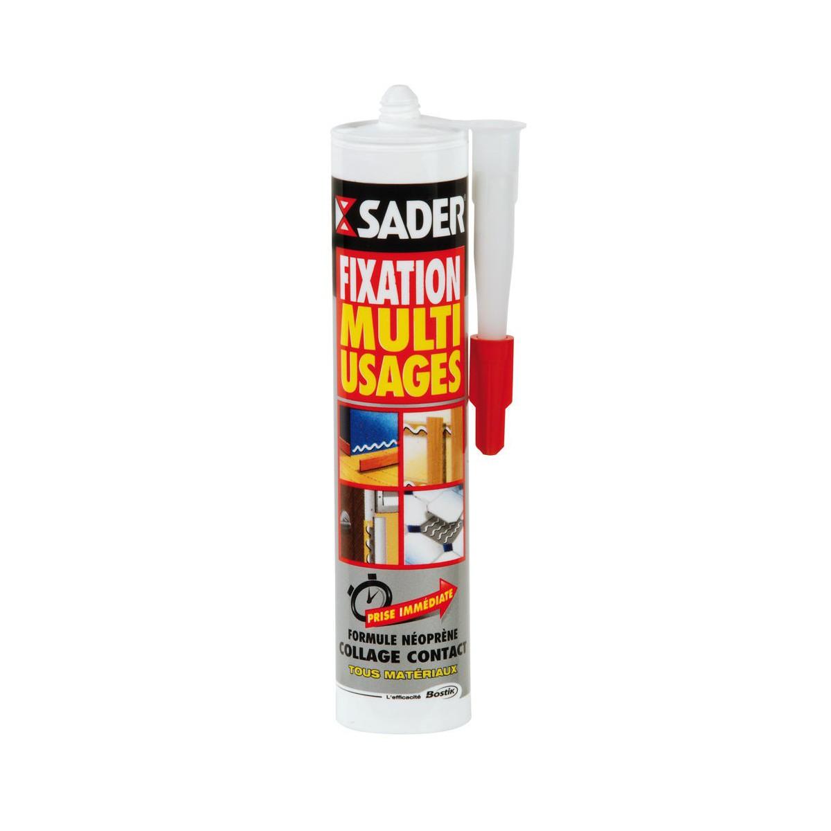 SADER - Colle néoprène de fixation multi-usages 310ml à 8,90