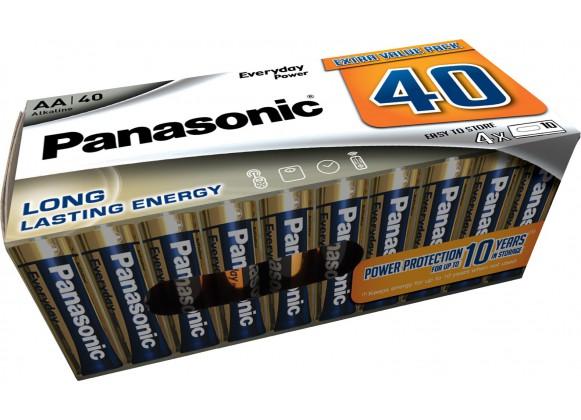 Piles LR06 AA Everyday Power pack de 40