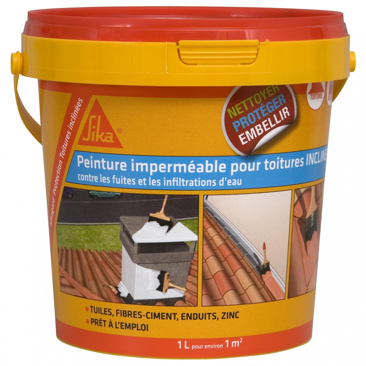 SIKA - Sikagard Protection Toiture inclinée 1L à 22,90