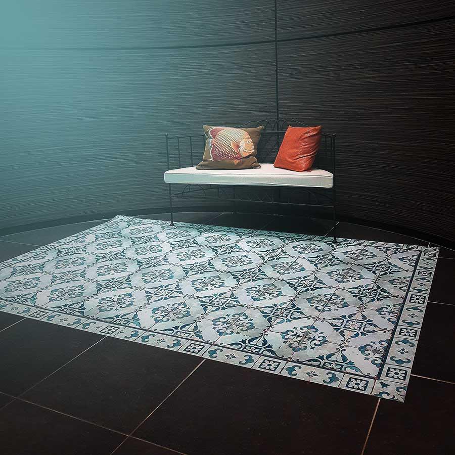 Tapis Imitation Carreaux De Ciment Vinyle tapis vinyle novofloor ✅ tapis carreaux de ciment et sur mesure