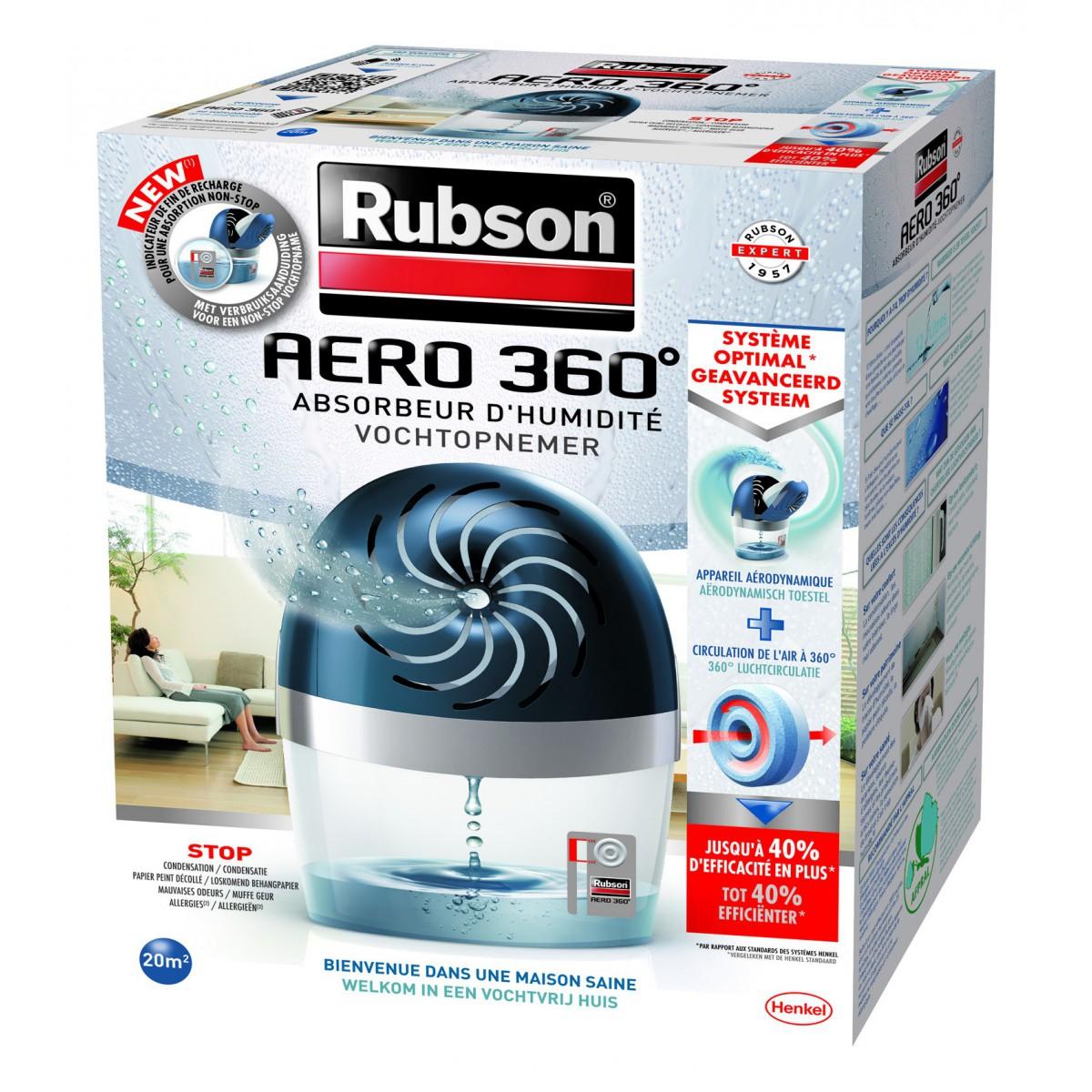 déshumidificateur rubson aero 360