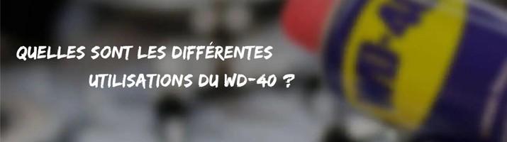 Utilisations WD40