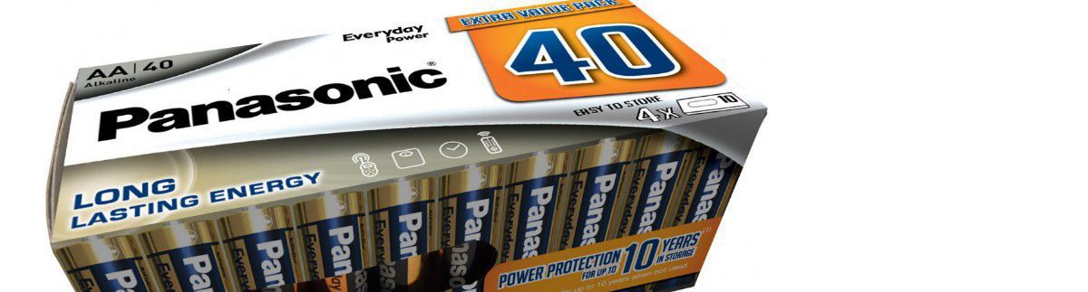 -20 % sur les packs de 40 piles AA