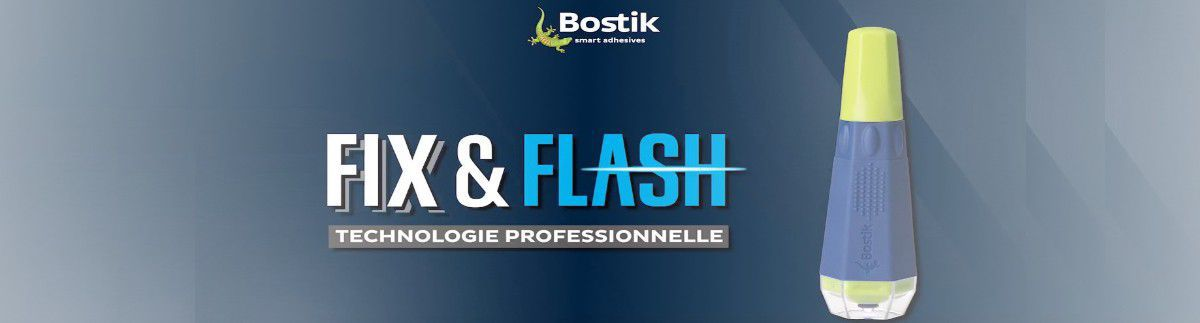 Colle Bostik Fix and Flash 5g rechargeable