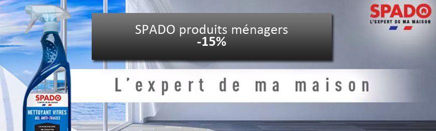 Tous les produits SPADO à 15%