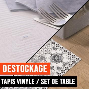 Déstockage tapis et sets de table